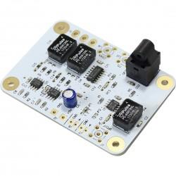 Module d'entrée SPDIF RS422 vers AES EBU / SPDIF / SPDIF TTL /Toslink