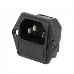SCHURTER IEC + fuse holder 5x20mm
