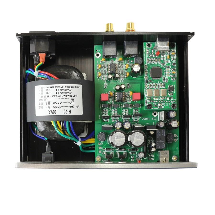 AUDIOPHONICS DAC USB ES9028Q2M XMOS U208 / Headphone