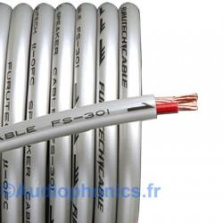 FURUTECH FS-301 Câble HP Cuivre OFC (Alpha) 2x2.0mm² Ø 7.5mm