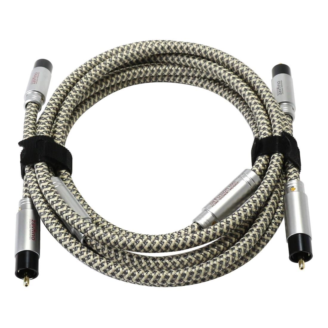 1877PHONO FUSION PURE RCA MKII Câble de Modulation PC-OCC RCA-RCA (La paire) 1.5m