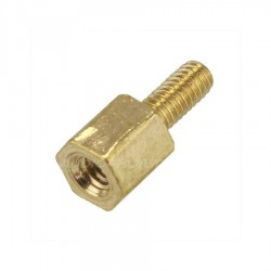 Brass Spacers M3x4mm Male / Female (x10)