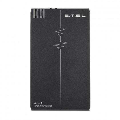 SMSL SAP-11 Amplificateur Casque Symétrique 2x TPA6120A2 197mW Noir