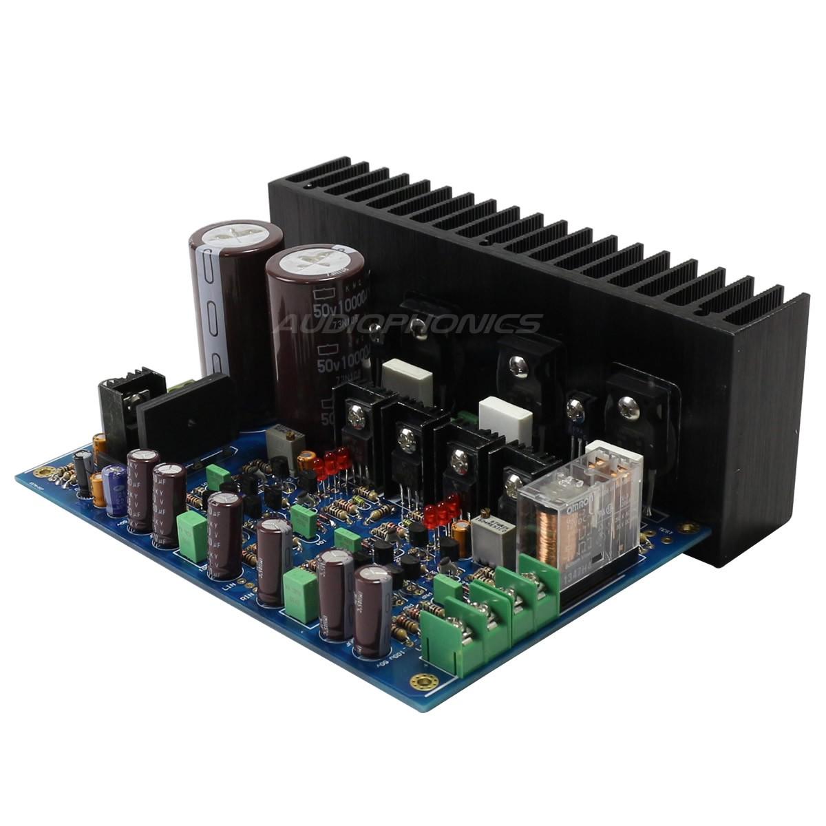 fsdd 120l module amplificateur st r o double diff rentiel class a b 2x120w 8 ohm audiophonics. Black Bedroom Furniture Sets. Home Design Ideas