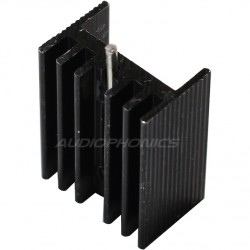 Radiator Heat sink Anodized anodized for TO-220 20x15x10mm Black