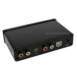 FX-AUDIO FX98S PRO Préamplificateur / Amplificateur casque DAC PCM2704 Noir