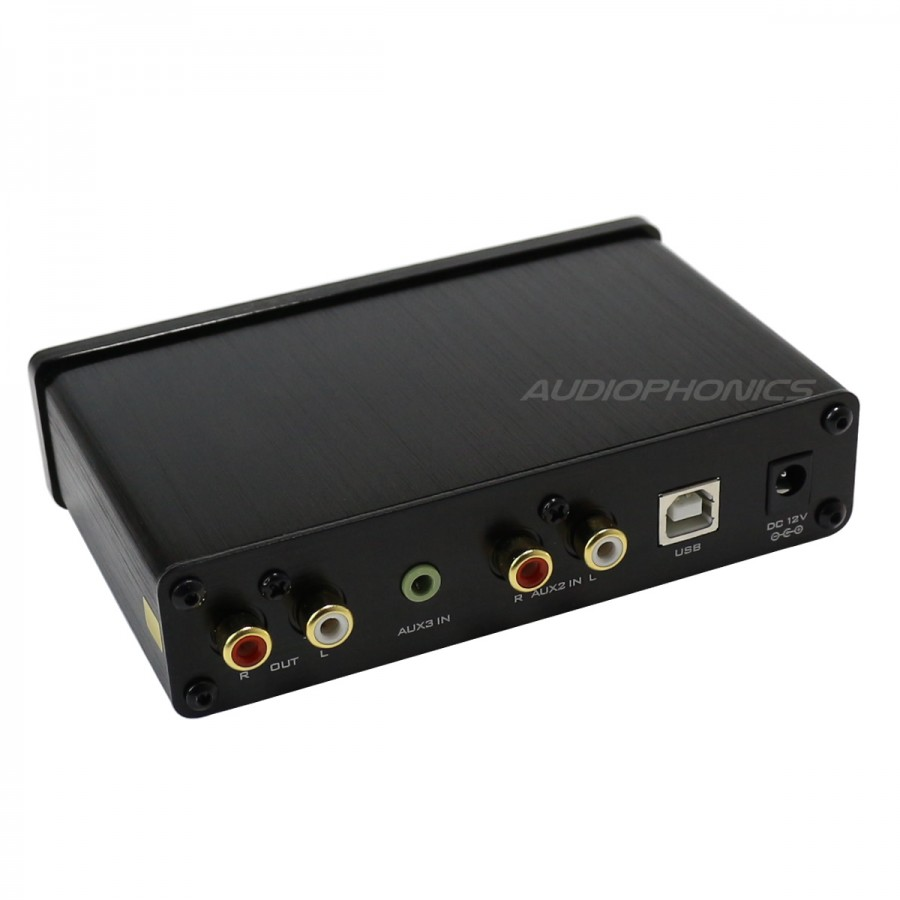 Fx Audio Fx98s Pro Preamplifier Headphone Amplifier Dac Pcm2704 Ra53 Stereo Connection Schematic Black