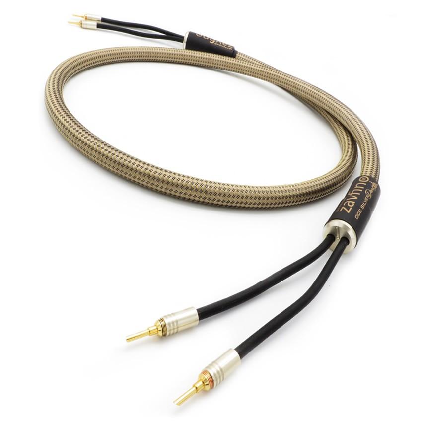 1877PHONO OCC Silver Dart Banana Graphene Speaker cables 2.5m (A pair)