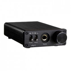 SMSL sAp-2 Headphone Amplifier TPA6120A2 1000mW / 16 Ohms Black