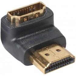 Adaptateur HDMI coudé 90° - Male Femelle
