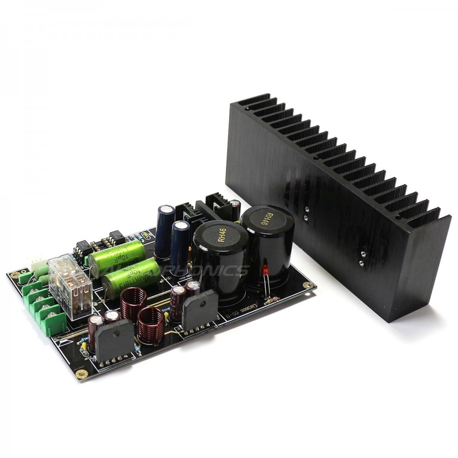 Lm3886 Stereo Audiophile Amplifier Board 2x68w 4 Ohm Audiophonics 5532 Ic Mic Preamplifire Circuit