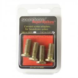 "SOUNDCARE ADAPTER Adaptateur 1/4"" vers 3/8"" pour Pointes SuperSpikes 1/4"" (Set x4)"