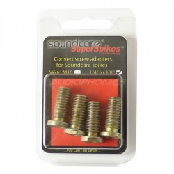 "SOUNDCARE ADAPTER Adapter 1/4"" to 3/8"" for SuperSpikes 1/4"" (Set of 4)"