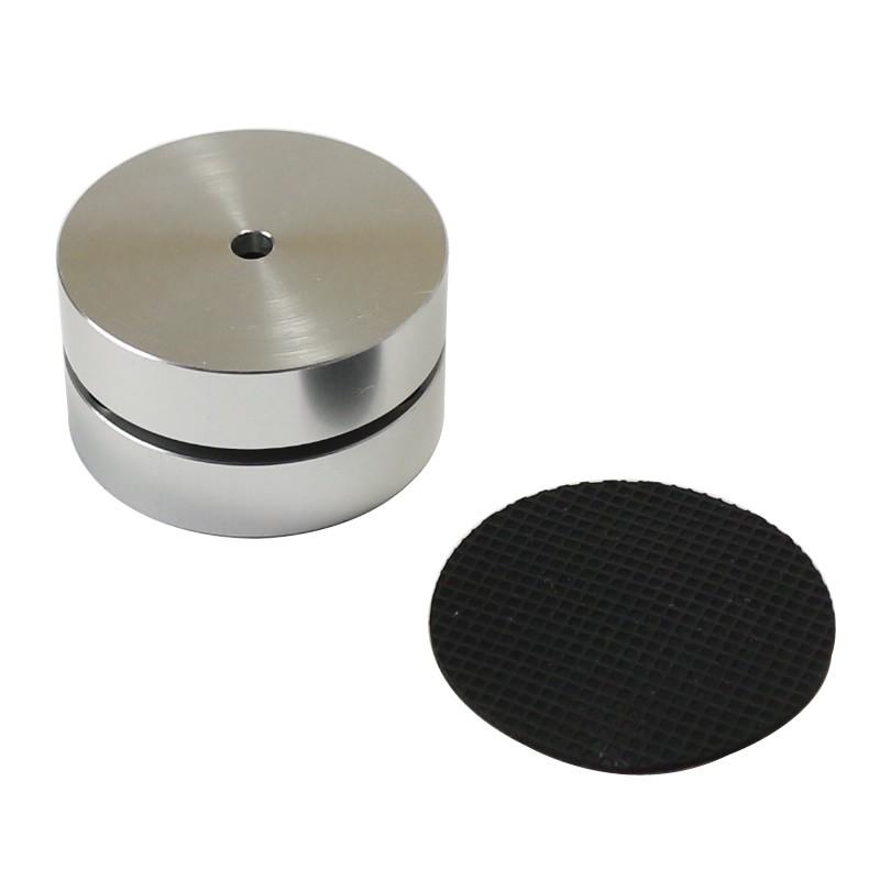 Pied Aluminium 3 pôles à billes 39x24mm Argent (Unité)