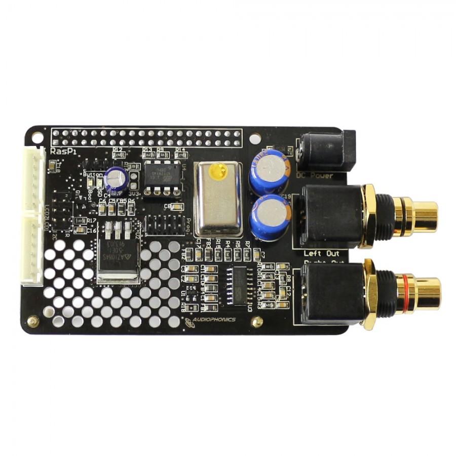 AUDIOPHONICS I-SABRE V4 DAC ES9023 TCXO Raspberry Pi 3 B / Pi 3 B+ ...