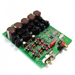 ESS ES9028 DAC Module Board 32bit 384khz DSD 3x LM317T Regulators