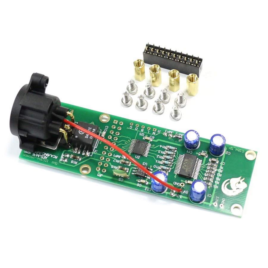 Digital Interface I2S to SPDIF AES EBU XLR 110 Ohm for Amanero