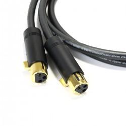 AUDIOPHONICS STEALTH Câble de Modulation Stéréo XLR-XLR Cuivre OFC ELECAUDIO 1m