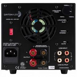 DAYTON AUDIO APA150 Amplificateur class A/B 150W 8 Ohm Noir