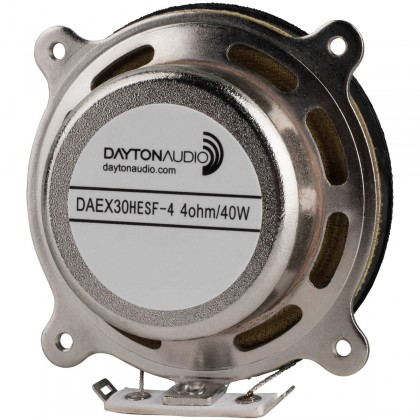 DAYTON AUDIO DAEX30HESF-4 Exciter Vibrator with shielding Ø 30mm 40W 4 Ohm