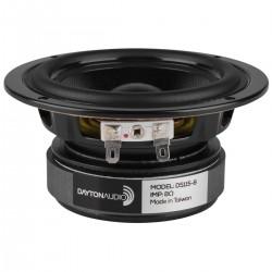 DAYTON AUDIO DS115-8 Designer Series Haut-Parleur Bas Médium 35W 8 Ohm 85dB 60Hz - 8000Hz Ø 10cm