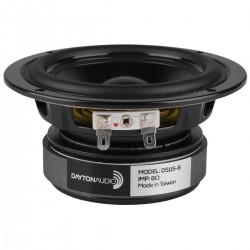 DAYTON AUDIO DS115-8 Designer Shielded Woofer 8 Ohm Ø10cm
