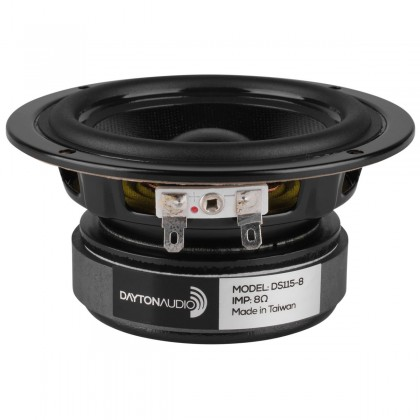DAYTON AUDIO DS115-8 Designer HP Médium Grave Blindé 35W 8 Ohm Ø10cm