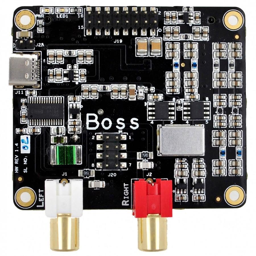 Pack Raspberry Pi 3 + ALLO BOSS V1 2 DAC PCM5122 + ALLO VOLT AMP