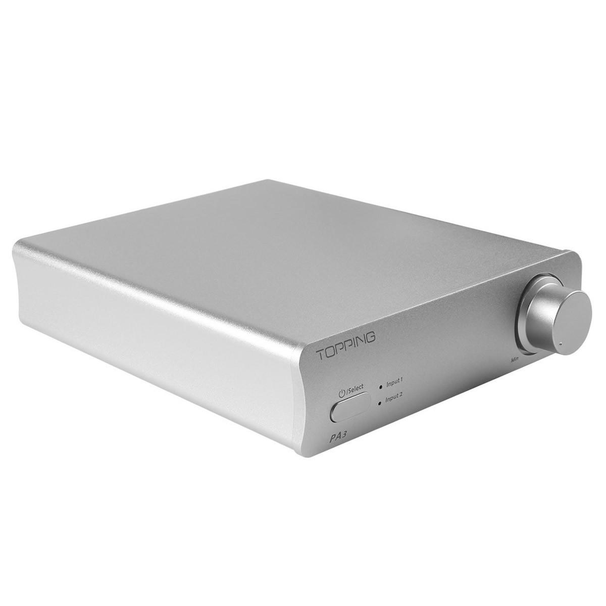 TOPPING PA3 TDA7498E Class D Amplifier 2x100W 4 Ohm Silver