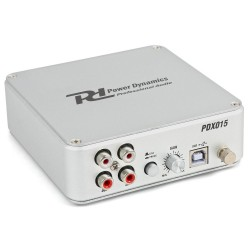 POWER DYNAMICS Preamplificateur Phono USB PDX015