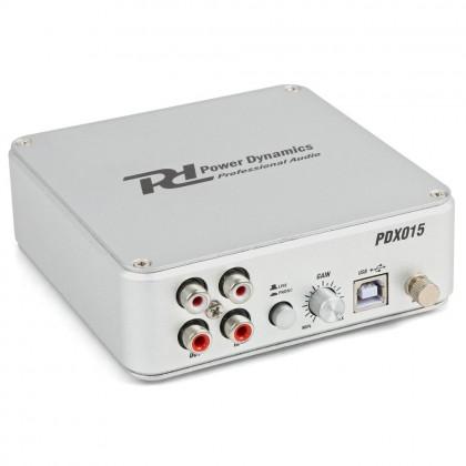 POWER DYNAMICS Préampli Phono USB PDX015