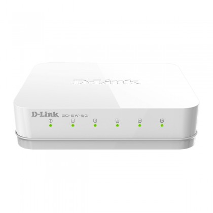 DLINKGO Network Switch RJ45 5 ports