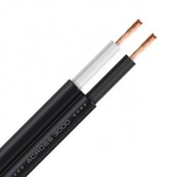 OYAIDE ACROSS 3000 Câble HP Cuivre 102SSC 2x 2.8mm² Ø9.2mm