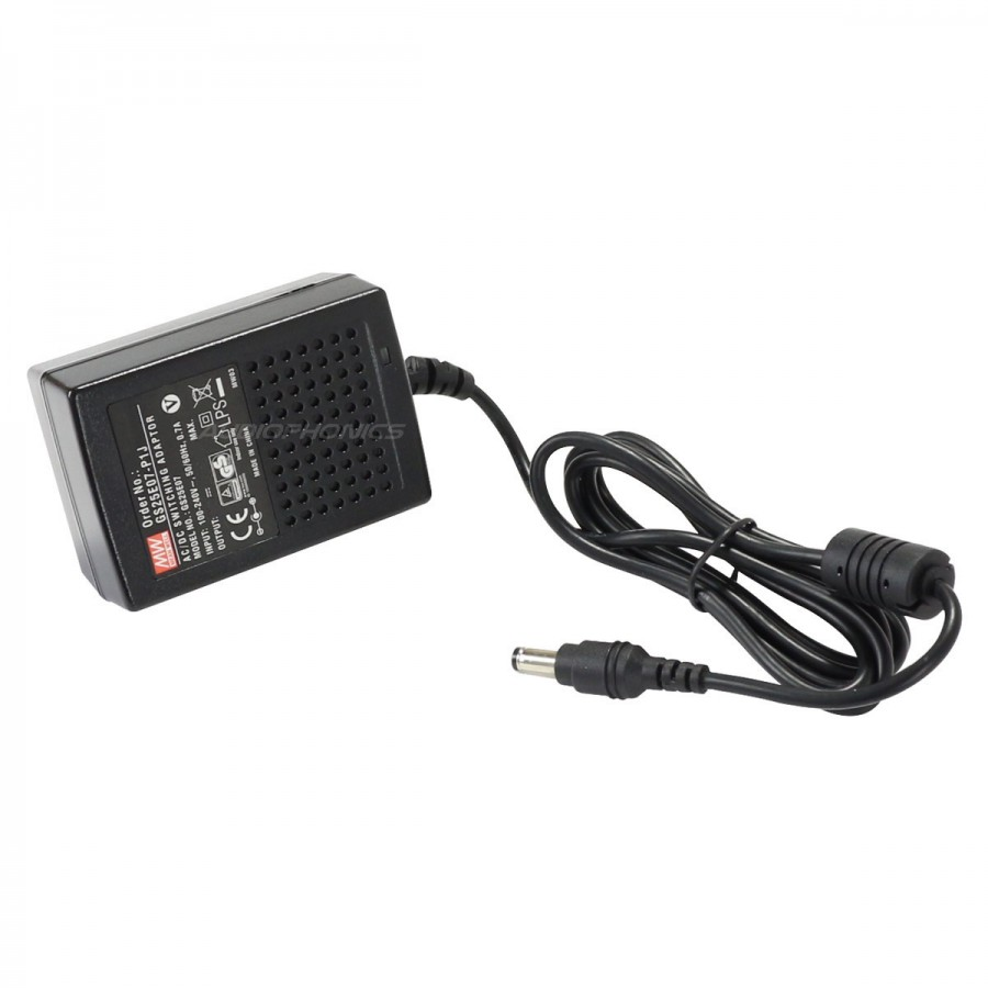 MEAN WELL AC/DC Switching Power Adapter 100-240V AC to 9V 2A DC