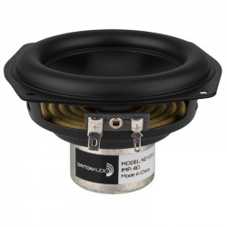DAYTON AUDIO ND105-4 Speaker Driver Midbass Aluminium 30W 4 Ohm 87dB 60Hz - 10kHz Ø10cm