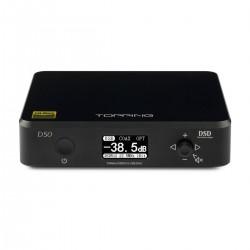 TOPPING D50 DAC ES9038Q2M x2 32bit/768kHz DSD512 XMOS U208