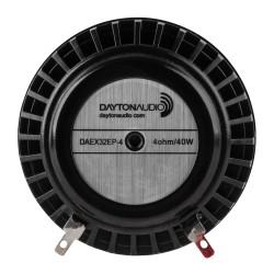 DAYTON AUDIO DAEX32EP-4 Haut-Parleur Vibreur Exciter Large Bande 40W 4 Ohm Ø 3.2cm