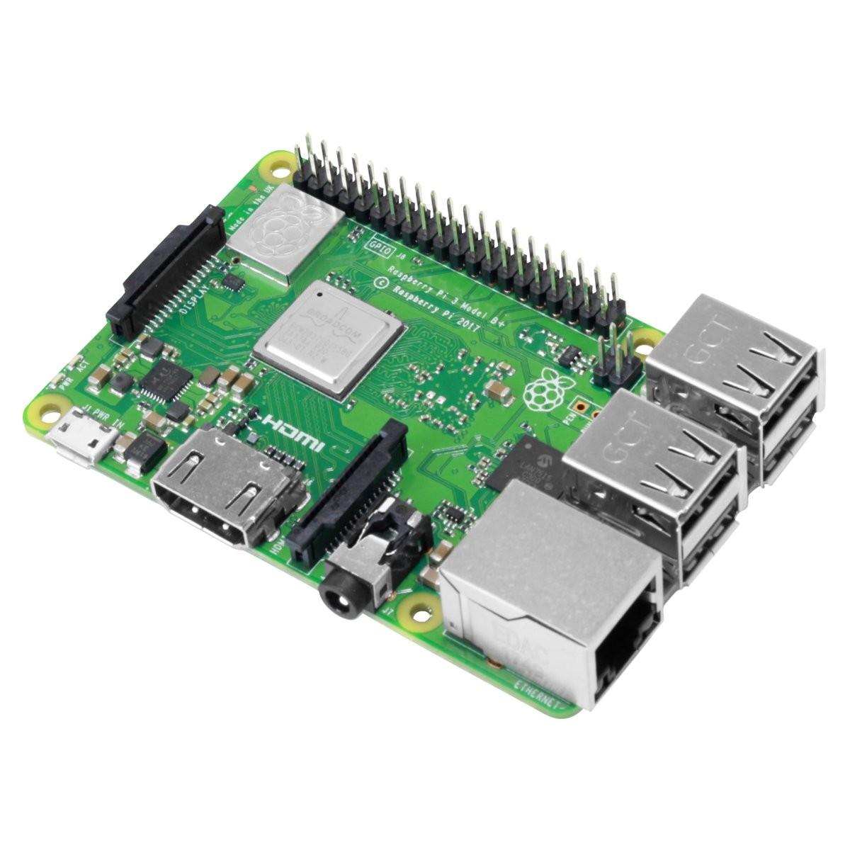 RASPBERRY Pi 3 model B+ 1GB HDMI Ethernet 4xUSB 1.4Ghz