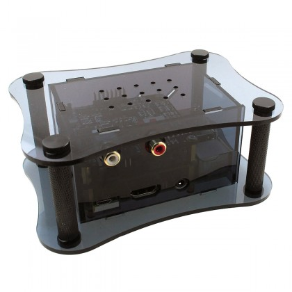 ALLO RPI + BOSS + ISOLATOR CASE Raspberry Pi 2 / 3 & Boss DAC & Isolator Box Black