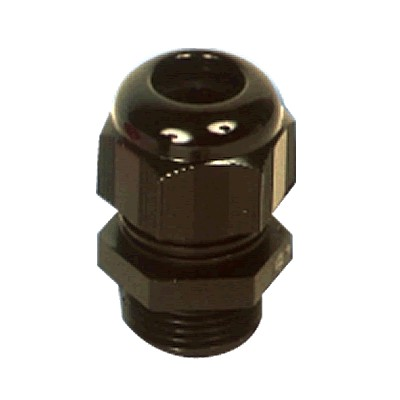 TYCO ELECTRONICS M12 Nylon Cable Gland (Black)
