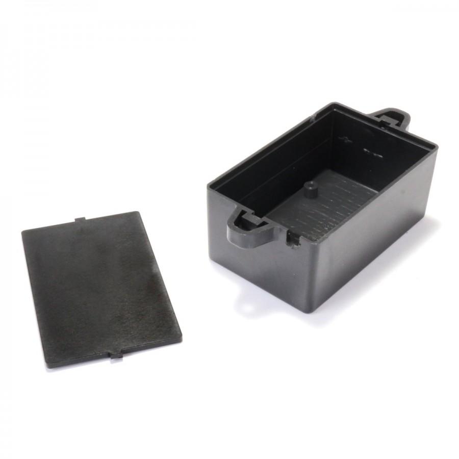 boitier plastique pour composants lectroniques noir. Black Bedroom Furniture Sets. Home Design Ideas