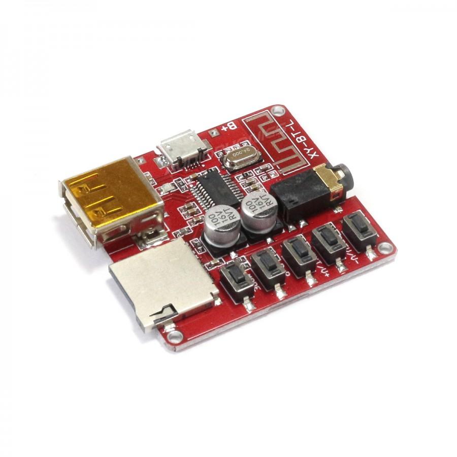 bluetooth 4 1 receiver file reader module audiophonics. Black Bedroom Furniture Sets. Home Design Ideas
