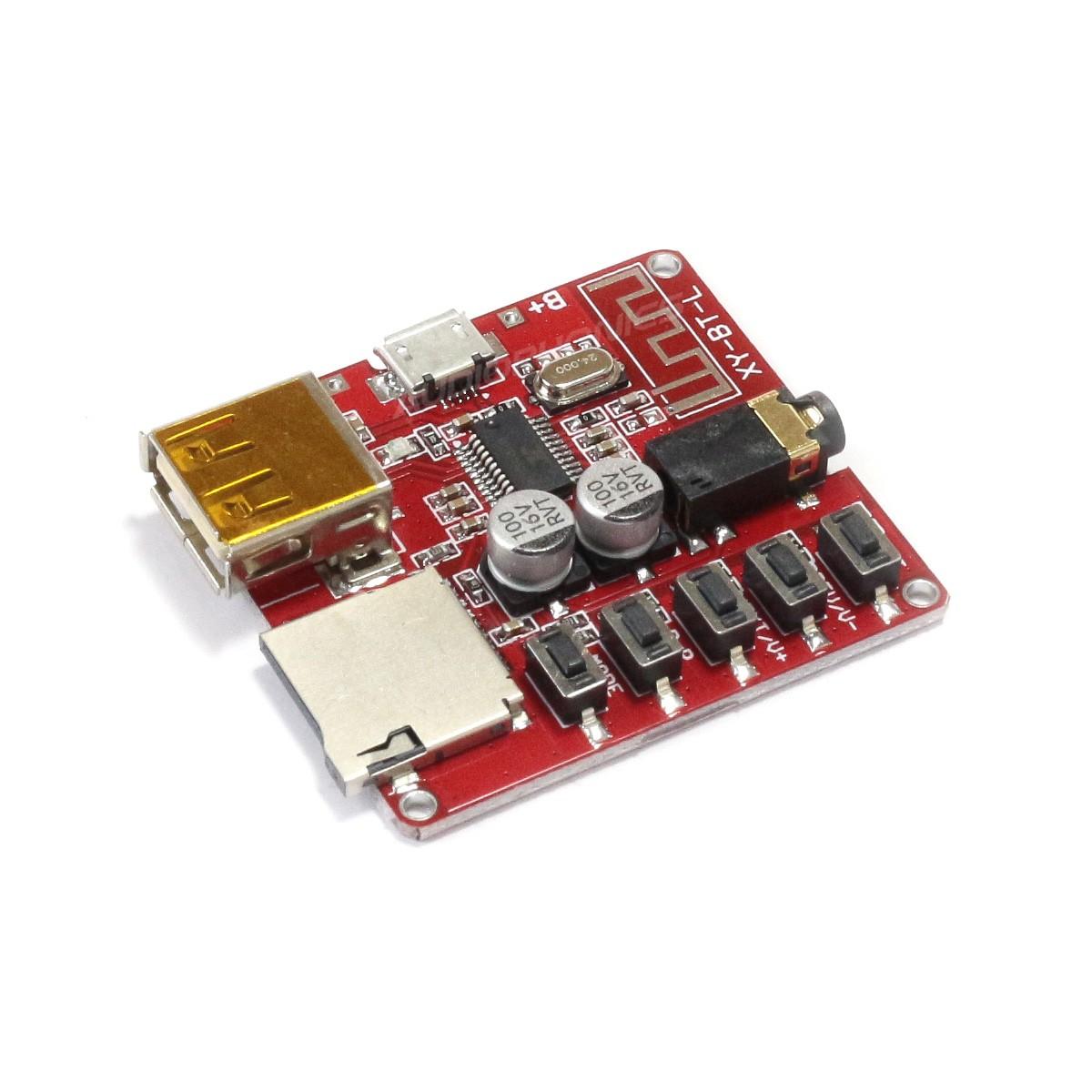 Module Récepteur Bluetooth 4.1 & Lecteur de Fichiers