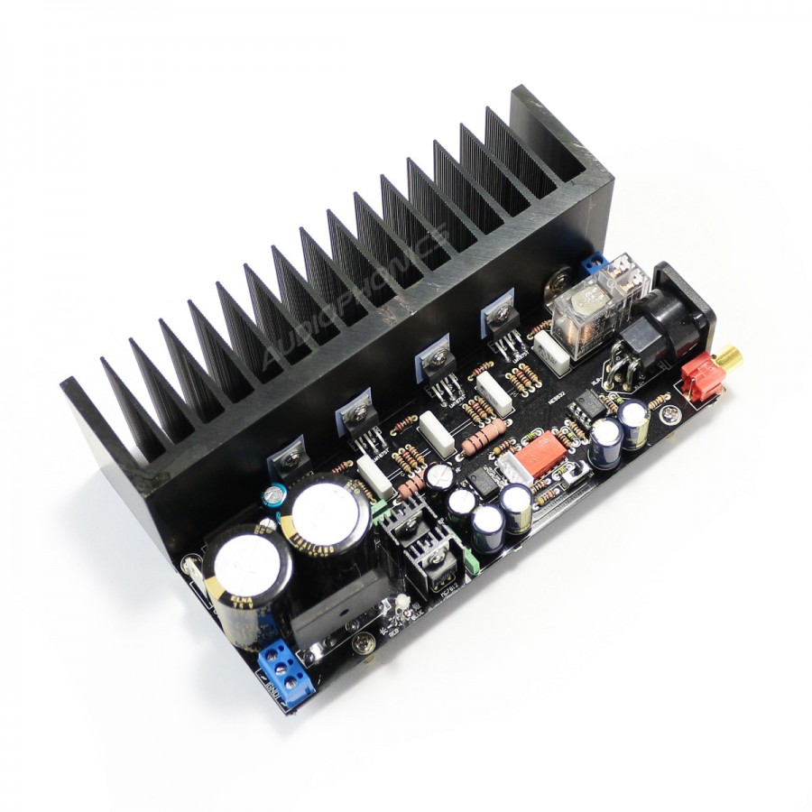 Mono Power Amplifier Modules Lm1875 2x80w 8 Ohm Pair Audiophonics 20w Audio Using Module