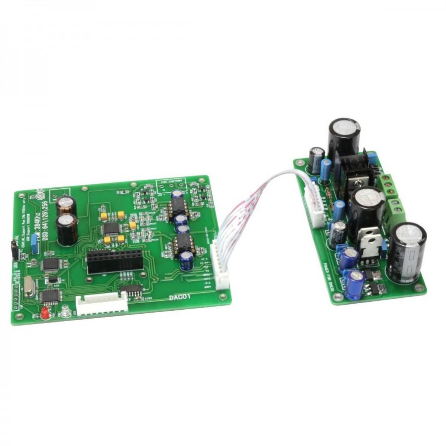 Dac01 Module Dac Akm Ak4490eq 32bit 384 Khz Dsd256 Power 64 Bit Computer On 24b 192 Dsd 256 Supply