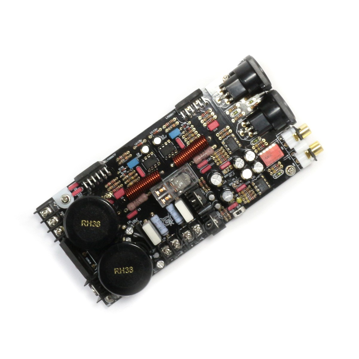 stereo power amplifier module lm3886 2x68w 4 ohm audiophonics. Black Bedroom Furniture Sets. Home Design Ideas