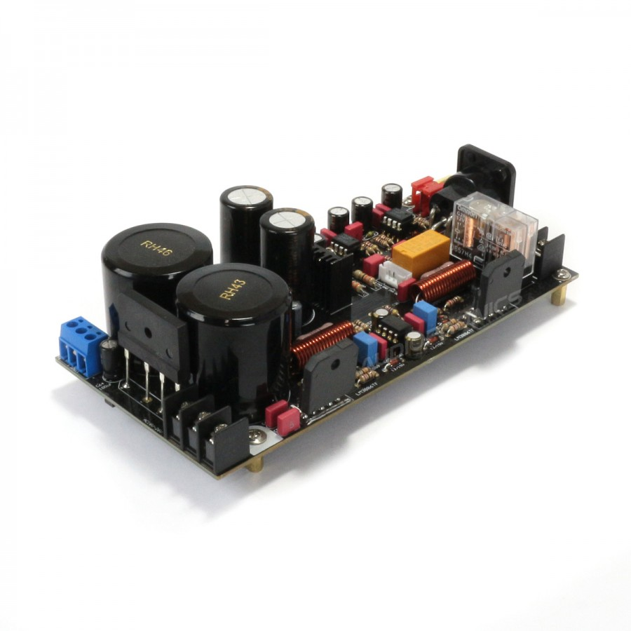 mono power amplifier modules lm3886 2x120w 8 ohm pair audiophonics. Black Bedroom Furniture Sets. Home Design Ideas
