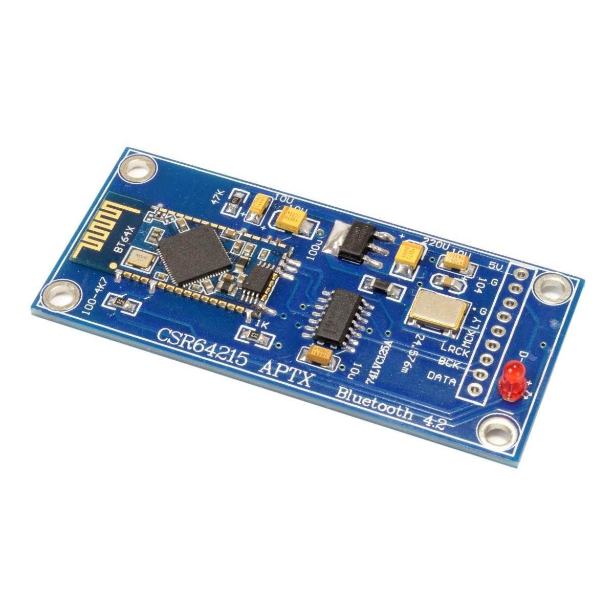 Bluetooth Receiver CSR64215 4.2 aptX to I2S