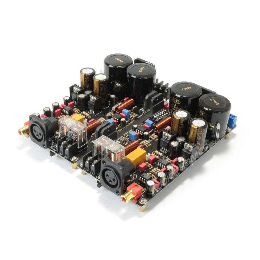 Mono Power Amplifier Modules Lm3886 2x120w 8 Ohm Pair Audiophonics Audio Frequency 20w Based Lm1875