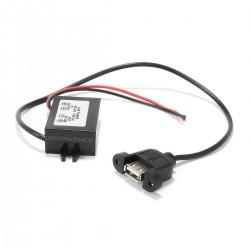 Adaptateur Convertisseur de Tension 8-50VDC vers 5VDC 15W 3A USB-A Femelle